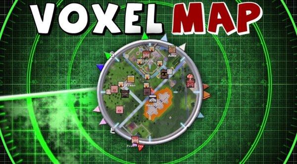 VoxelMap — мод на мини-карту 1.14.4, 1.13.2, 1.12.2, 1.7.10