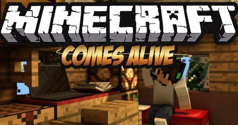 Minecraft Comes Alive — мод на семью 1.13.2, 1.12.2, 1.7.10