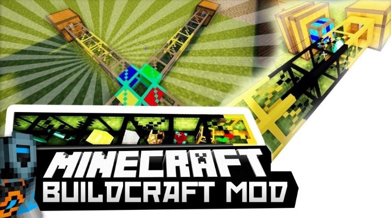 BuildCraft — Билдкрафт 1.13.2, 1.12.2, 1.7.10
