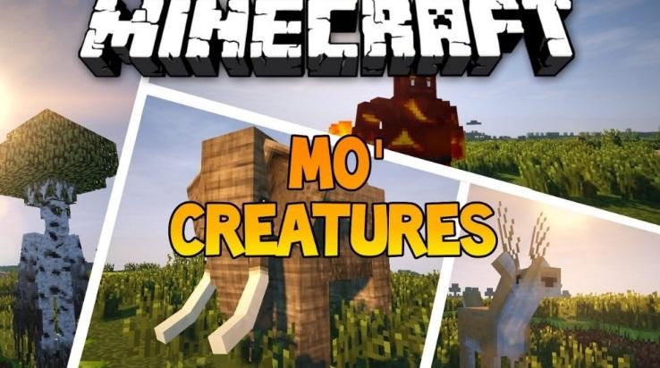 Mo Creatures — мод на животных 1.13.2, 1.12.2, 1.7.10