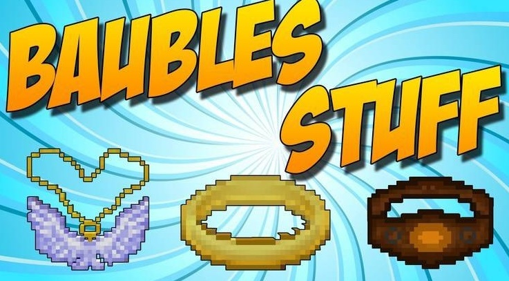 Baubles — слоты для колец 1.13.2, 1.12.2, 1.7.10
