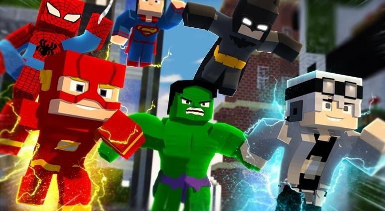 Super Heroes — мод на супергероев 1.12.2, 1.7.10