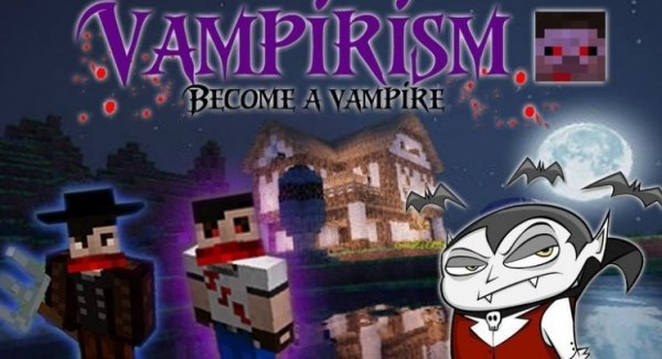 Vampirism 1.14.4, 1.13.2, 1.12.2, 1.7.10