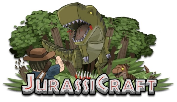 JurassiCraft — мод на динозавров 1.14.0, 1.13.2, 1.12.2, 1.7.10