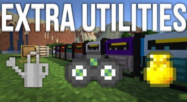 Extra Utilities 1.13.2, 1.12.2, 1.7.10