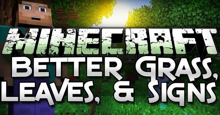 Better Foliage - реалистичная трава и деревья 1.14.0, 1.13.2, 1.12.2, 1.7.10
