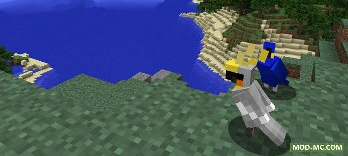 Попугай в Minecraft 1.12.0