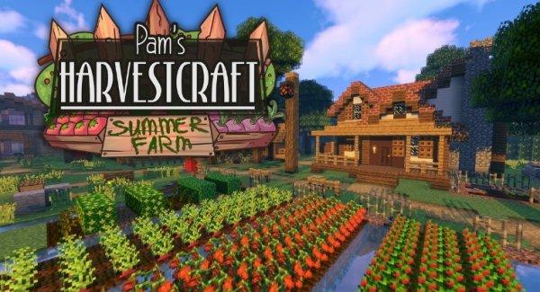 HarvestCraft - мод на еду 1.13.2, 1.12.2, 1.7.10