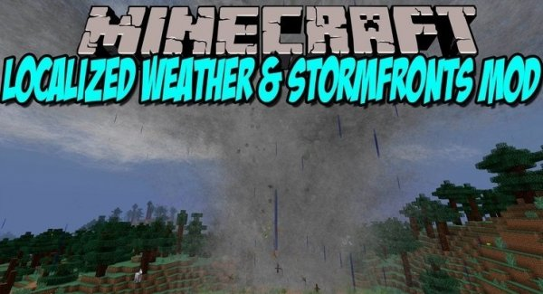 Localized Weather & Stormfronts 1.14.4, 1.12.2, 1.7.10