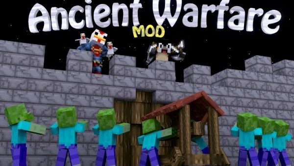 Ancient Warfare 1.14.4, 1.12.2, 1.7.10