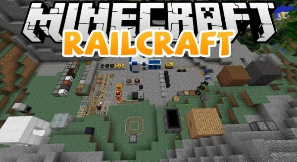 Railcraft - мод на поезда 1.12.2, 1.7.10