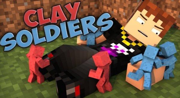Clay Soldiers - мод на глиняных солдатиков 1.14.4, 1.12.2, 1.7.10